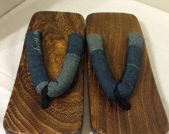 Men's New Paulownia wood geta