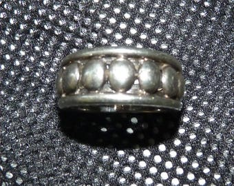 Size 8 Sterling Silver 925 ring  --  Maker Marked SE -- Probably Denmark Sorensen and Ehlers-Holte 1977-1979