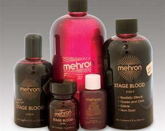 Mehron Stage Blood- Edible