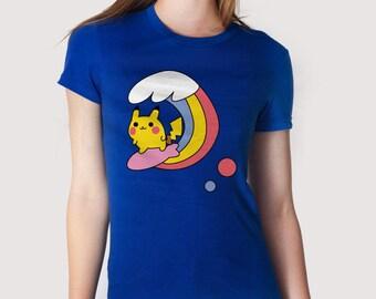 Surfer monster - t-shirt