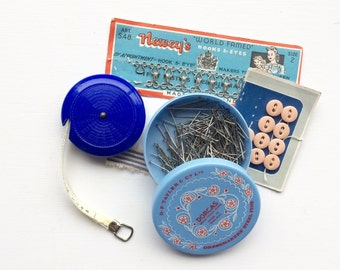Vintage sewing notions Dorcas pins sewing supplies