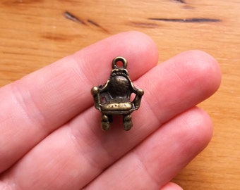 13 Bronze Antique Chair Charms