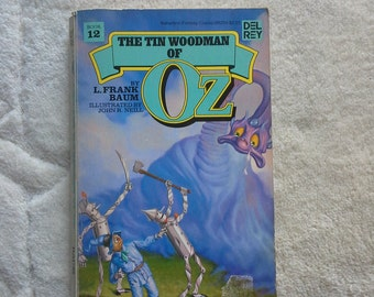 The Tin Woodman of Oz by L.Frank Baum 1980s