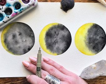 Original - Movement in Moon Phases
