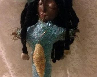 Yemaya Goddess doll statue