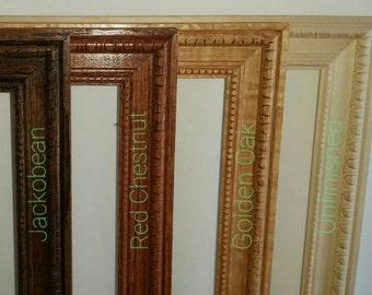 1336u-Hand Crafted Wood Frames 24x36