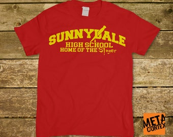 Buffy the Vampire Slayer - Sunnydale High Home of the Slayer TV Series T-shirt