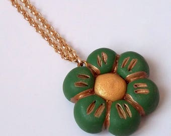 Necklace with fimo charm