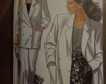 New Look 6092, sizes 8-18, lined jacket, trousers, UNCUT sewing pattern, craft supplies
