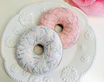 Felt food donuts, Only 2 sets available