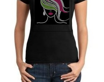 Pink Hair Girl Tee