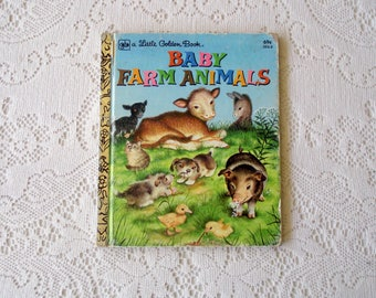 Little Golden Book: Baby Farm Animals