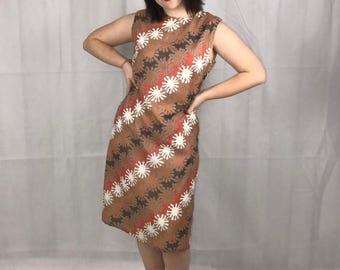 Eriko 1960's Sleeveless Dress