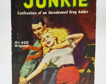 JUNKIE by William Lee (William S. Burroughs) 1st Edition of his VERY RARE First Book !  Published 1953