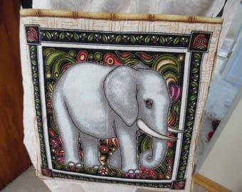 Elephant / Cheetah Animal Print Cross Body Bag, Purse, Cross body Bag, Purse, Small Bag, Small Purse, Animal Purse