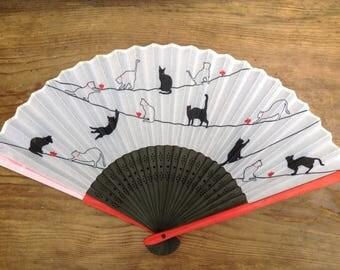 Hand Held Fan /Paper Folding Fan/ Japanese Fan