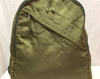 Backpack Bag, Large Backpack, Green Nylon Backpack