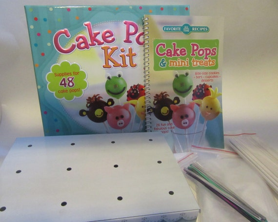 cake pop kit cake pop kit makes 48 pops from misslissabaker on etsy 2289