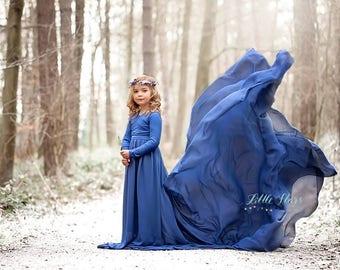 Danica Dress Little + Long Sleeves + On Shoulder l Photoshoot l Maternity Shoot l Maternity Dress l Maternity Gown