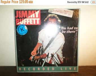 Save 30% Today 1981 LP Record Jimmy Buffett You Had to Be There Recorded Live Excellent Condition In Shrink 9973