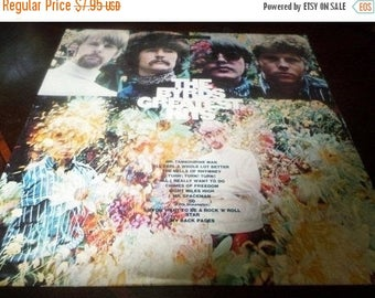 Save 30% Today Vintage 1967 Vinyl LP Record The Byrds Greatest Hits Very Good Condition 516/517