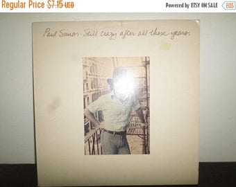 Save 30% Today Vintage 1975 Vinyl LP Record Paul Simon Still Crazy After All These Years Excellent Condition 7718