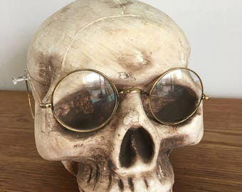 Awesome Late 1800s Gold Glasses! FREE SHIPPING!