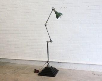 Floor Standing Dugdills Task Lamp Circa 1950's