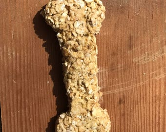 Chicken and Oatmeal Dog Biscuits