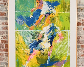 Leroy Neiman Signed & Numbered Serigraph 58/300 - Tennis Players