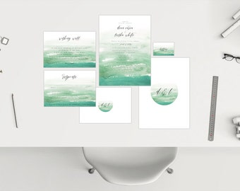Wedding Package // Watercolour 05