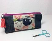 Sloth -Small zipper pouch