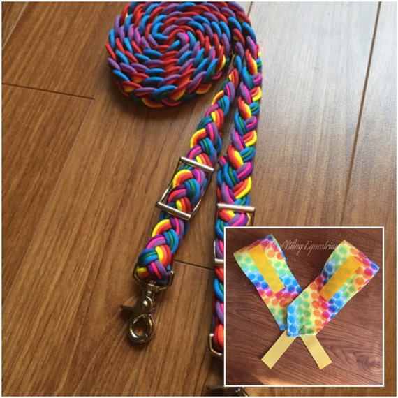 Over the Rainbow Reins and Wraps Gift Set