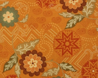 Casandra Floral for Benartex , Quilt Fabric, Southwest, Paisleys, Flowers Sold by the Half Yard