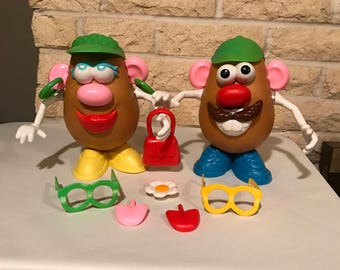 1985 Playskool Mr. and Mrs. Potato Head