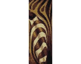 SALE HALF PRICE off Instant Download Beading Pattern Peyote Stitch Bracelet Zebra Seed Bead Cuff
