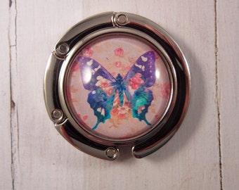Butterfly Purse Hanger, Handbag Hook, Purse Hook, Butterfly Purse Hanger, Wedding Favors, Purse Accessories, Handbag Holder