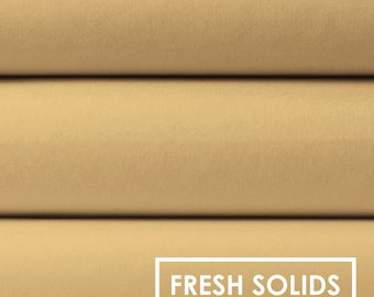 Camelot Fresh Solids- Chamomile, Fabric by the Yard