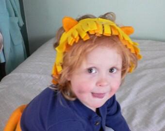 Children's Felt Lion Tail Costume Halloween Play