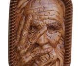 Vintage Wood Carving - Ol...