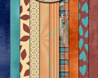 Digital Scrapbooking: Paper Pack Extra, A Comfort To Me