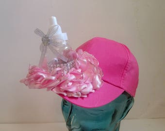 BABY SHOWER HAT, new mom hat, baby boy, baby girl shower, new mom gift, baby shower, baseball cap mom, its a boy, its a girl, funny shower