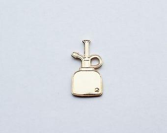 Gold Plant Mister | Lapel Pin