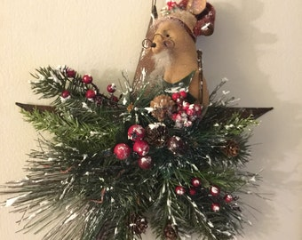 Merry Mouse Christmas Star