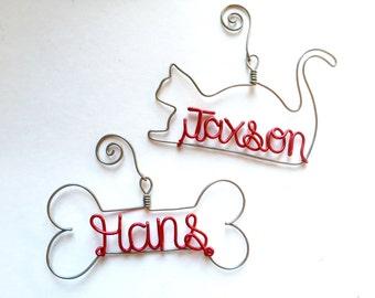 Personalized Pet Ornament