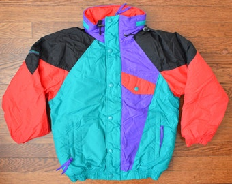 RARE 90s Columbia Ski Jacket - Hot Tub Time Machine Would Be Jealous - Youth Large/Women's XS