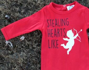 Boy Valentine Shirt; Infant Boy Valentine Shirt; Toddler Boy Valentine Shirt; Cute Boy Valentine Shirt; Valentine Boy Shirt