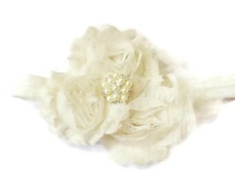 baby headband. flower headband. newborn headband. infant headband. floral headband. baby headband bow. baby girl headband. fabric flower