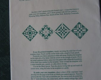 American Quilt Templates