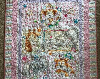 Pink Cuddle Time Quilt